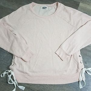 Aerie side tie Sweatshirt
